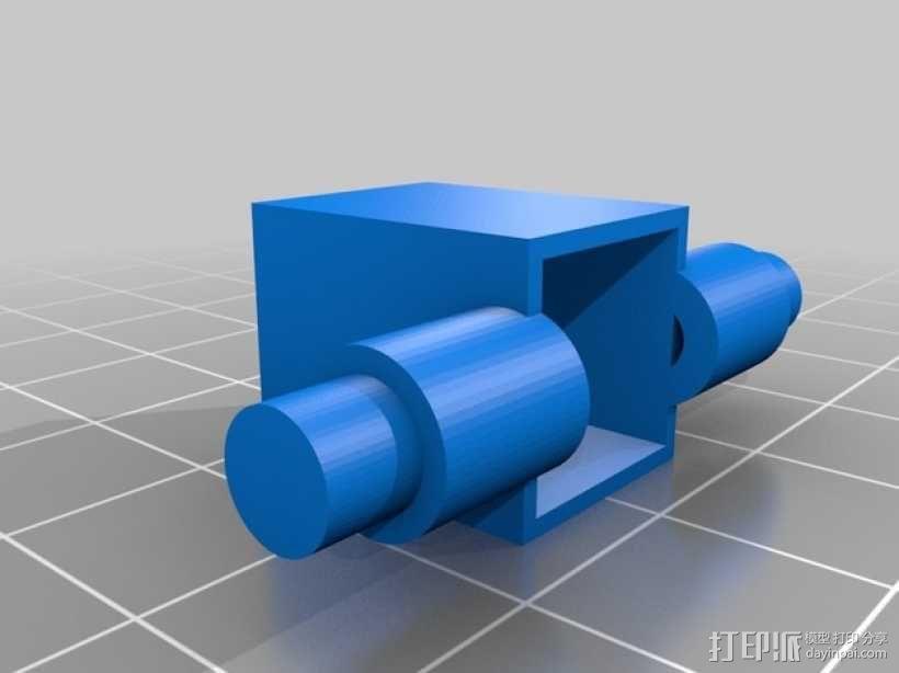 迷你fpv四轴飞行器组件 3D模型  图16