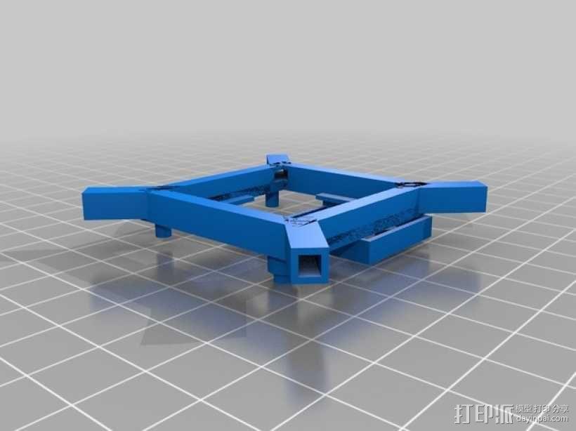 迷你fpv四轴飞行器组件 3D模型  图19