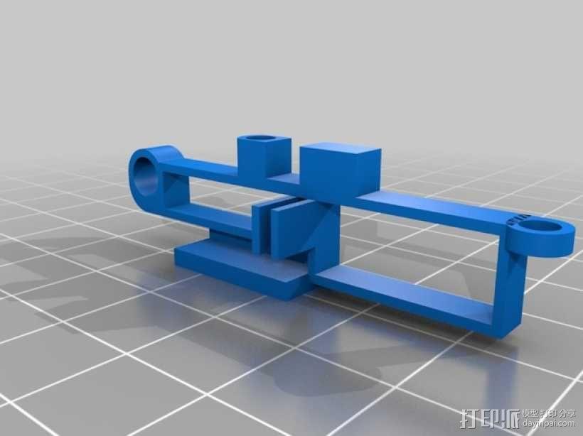 迷你fpv四轴飞行器组件 3D模型  图18