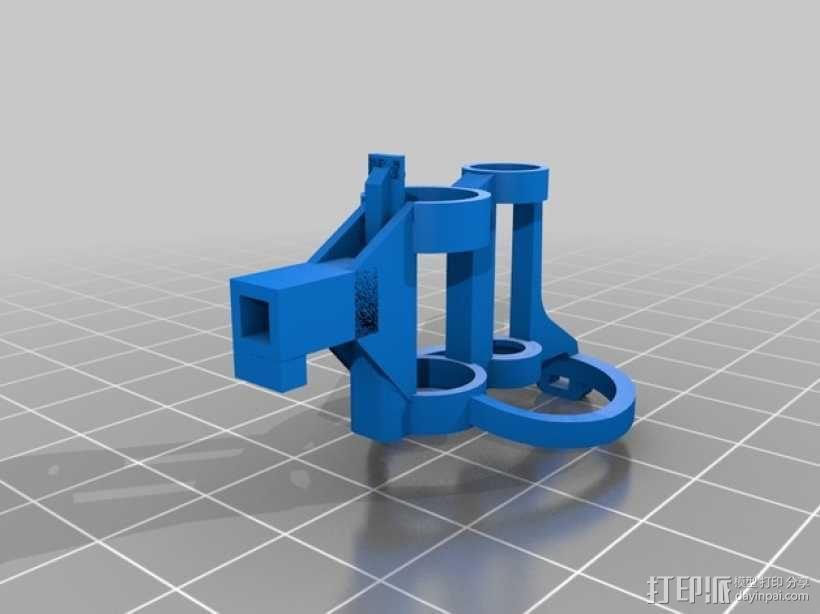 迷你fpv四轴飞行器组件 3D模型  图21