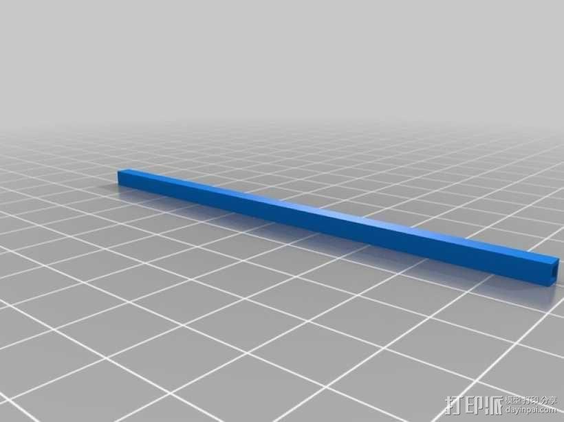 迷你fpv四轴飞行器组件 3D模型  图20