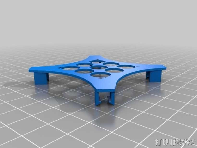 迷你fpv四轴飞行器组件 3D模型  图22