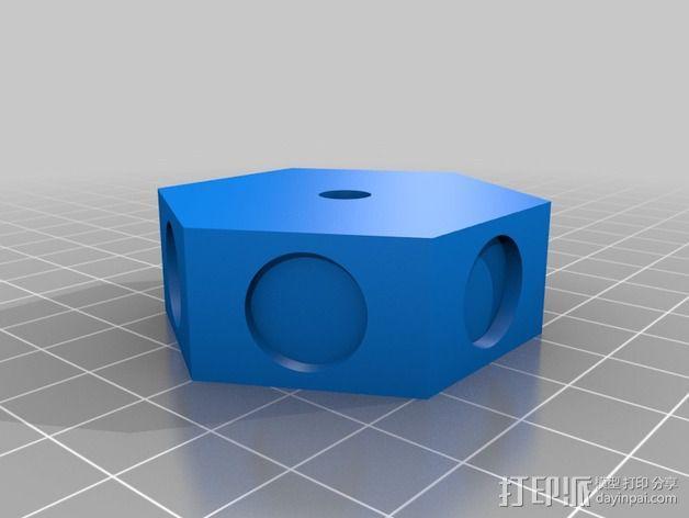3D打印单线圈脉冲电机 3D模型  图5