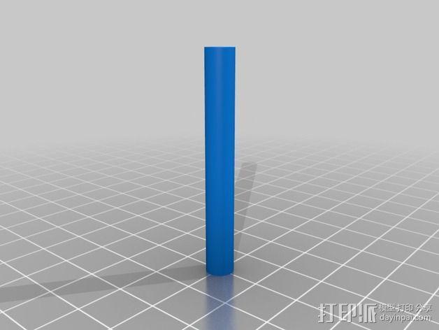 3D打印单线圈脉冲电机 3D模型  图4