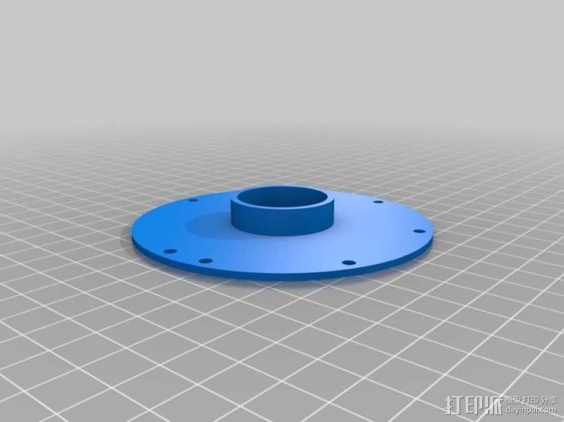 涡轮鼓风机  3D模型  图2