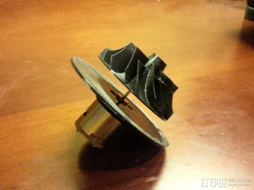 涡轮鼓风机  3D模型  图8
