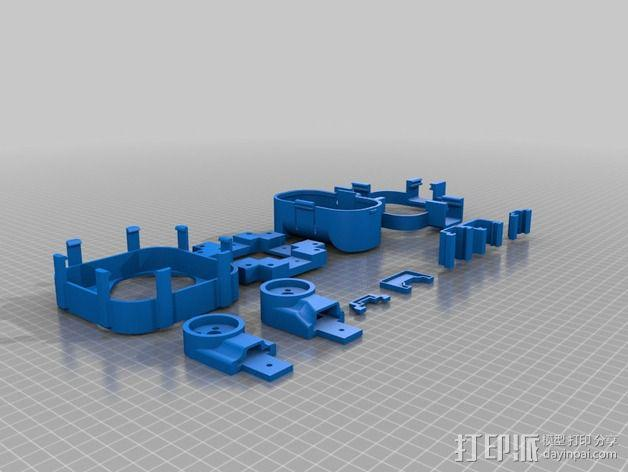 四轴飞行器 3D模型  图4