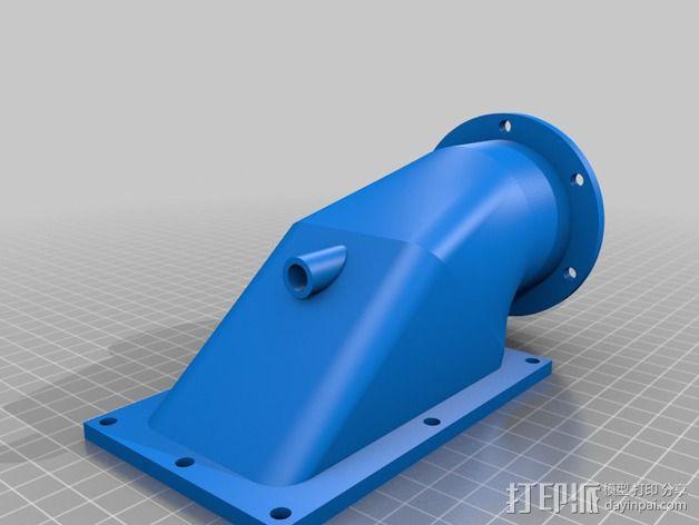 水上喷气机 3D模型  图1