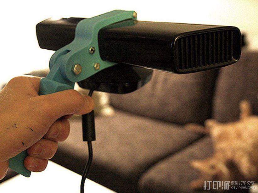 Kinect 握手 3D模型  图1