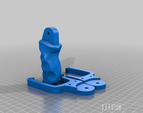Kinect 握手 3D模型  图5