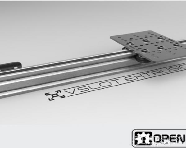V字槽模块化框架系统 3D模型  图7