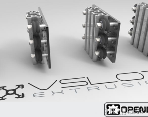V字槽模块化框架系统 3D模型  图9