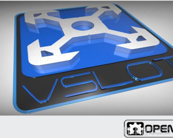 V字槽模块化框架系统 3D模型  图12
