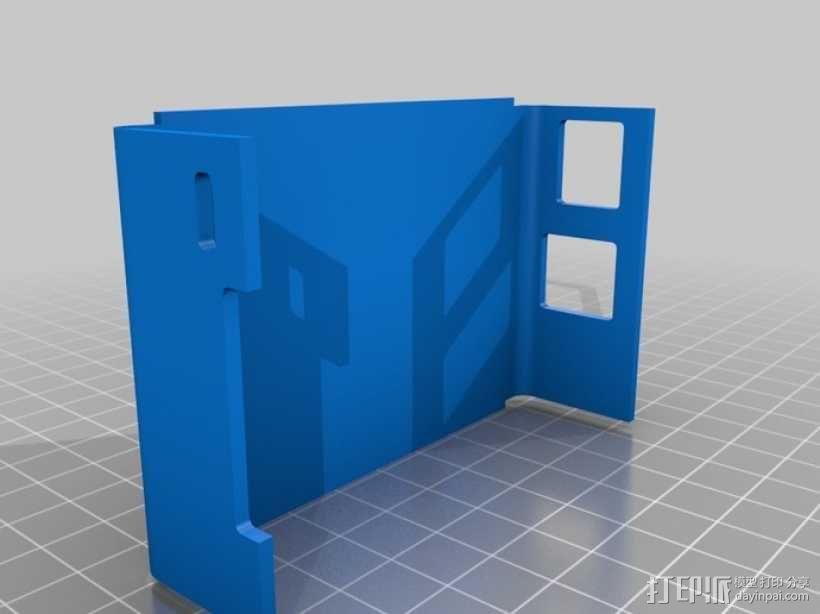 树莓派外壳 3D模型  图7