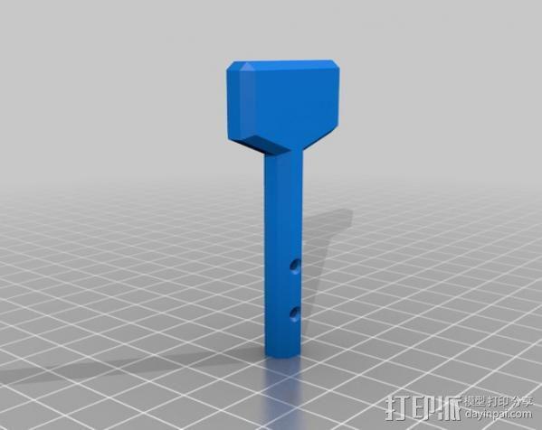 全打印尤克里里 3D模型  图5