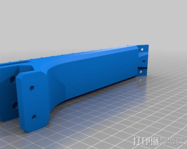 全打印尤克里里 3D模型  图7