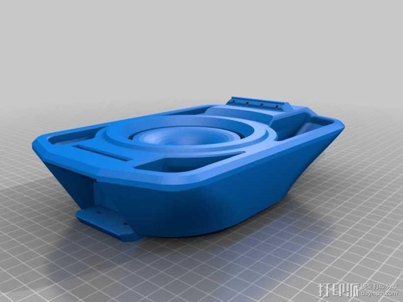 全打印尤克里里 3D模型  图8