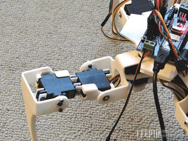 四足步行机器人 3D模型  图5