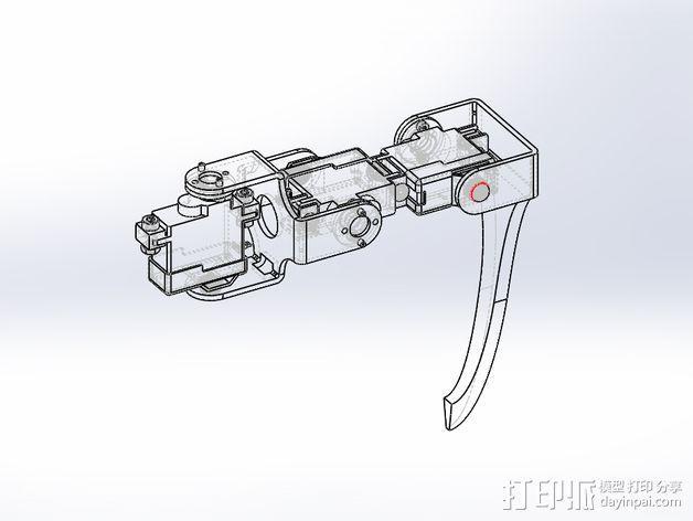 四足步行机器人 3D模型  图7