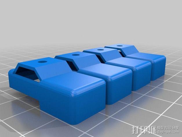 四足步行机器人 3D模型  图10