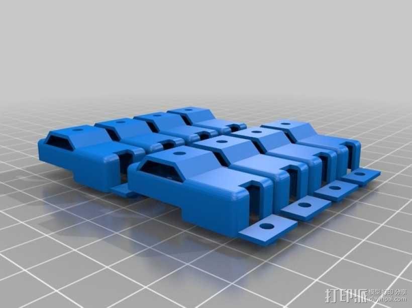 四足步行机器人 3D模型  图12