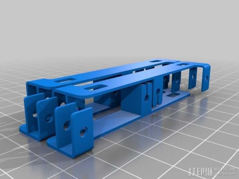 四足步行机器人 3D模型  图14
