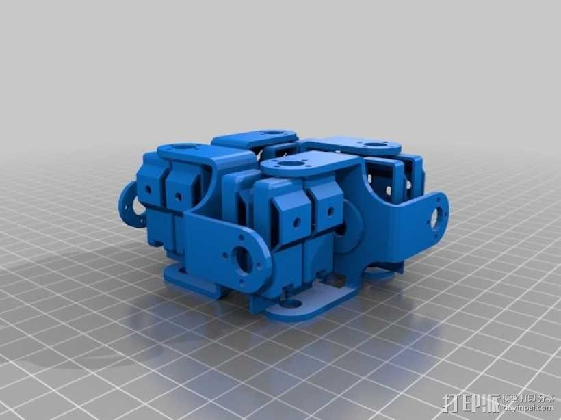 四足步行机器人 3D模型  图16