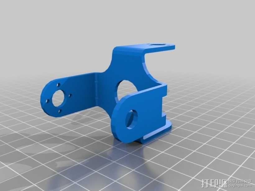 四足步行机器人 3D模型  图15