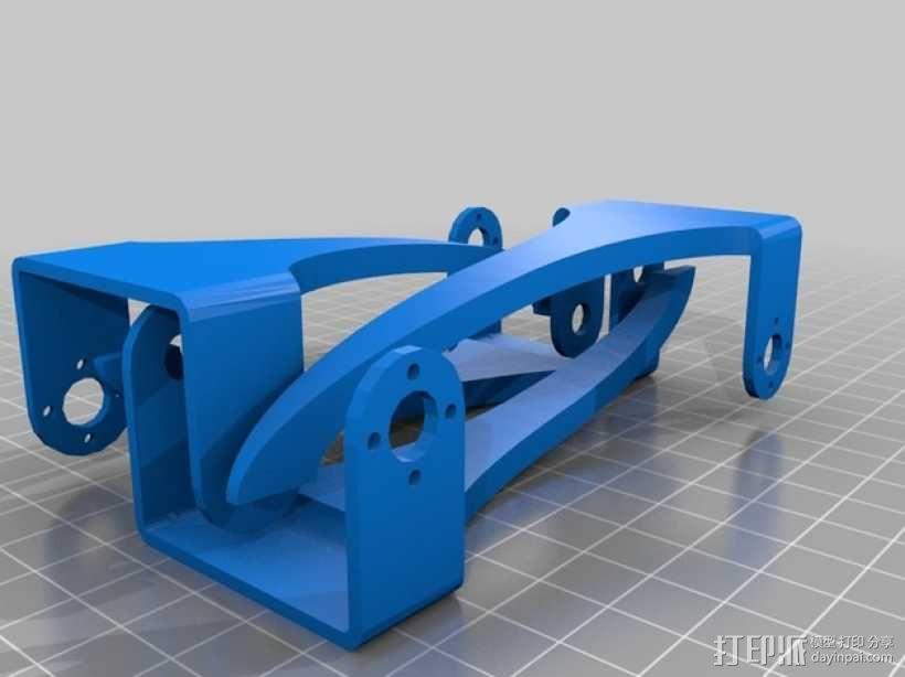四足步行机器人 3D模型  图18