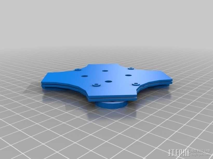 四足步行机器人 3D模型  图22