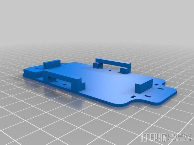 200QX四轴飞行器 3D模型  图3