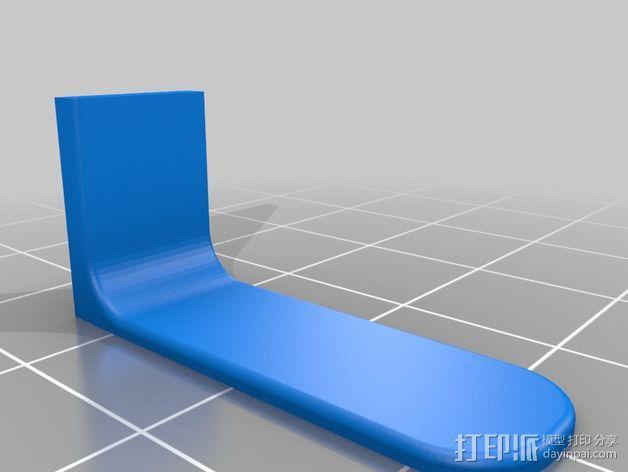 200QX四轴飞行器 3D模型  图6