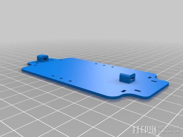 200QX四轴飞行器 3D模型  图8