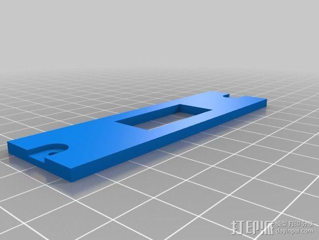 手电筒外壳 3D模型  图2