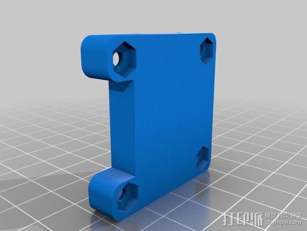 电路板外壳 3D模型  图1