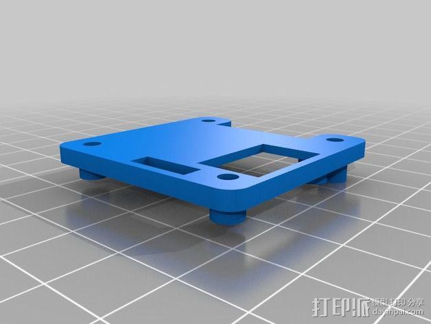 电路板外壳 3D模型  图2
