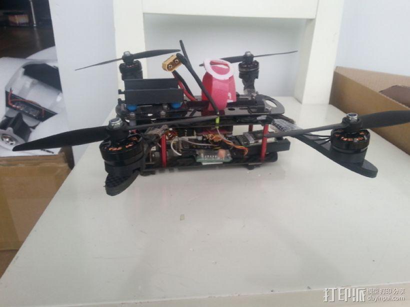 四轴飞行器发动机支架  3D模型  图1