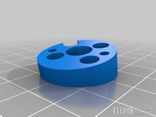 四轴飞行器发动机支架  3D模型  图5