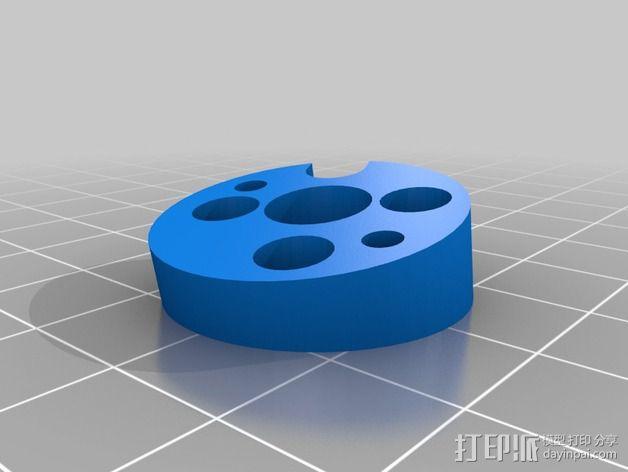 四轴飞行器发动机支架  3D模型  图6