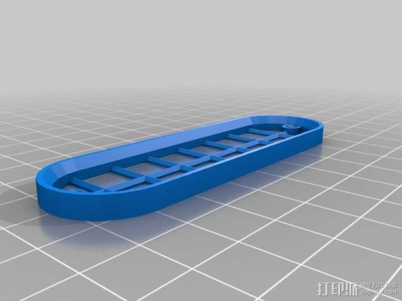 遥控赛车进气口 3D模型  图4