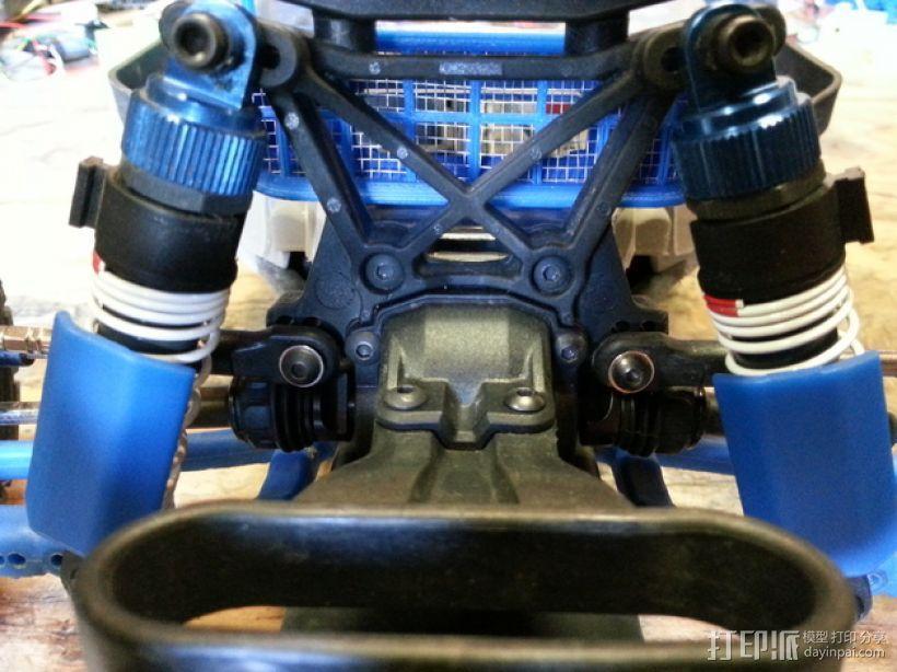 遥控赛车进气口 3D模型  图5