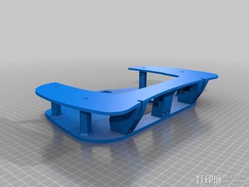 飞机遥控器 托架 3D模型  图3
