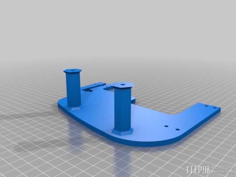 飞机遥控器 托架 3D模型  图5