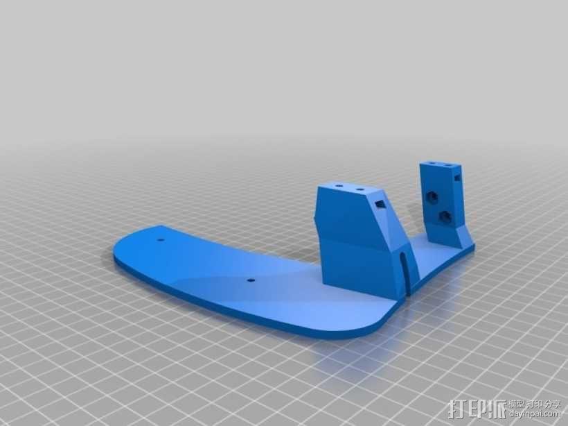 飞机遥控器 托架 3D模型  图6