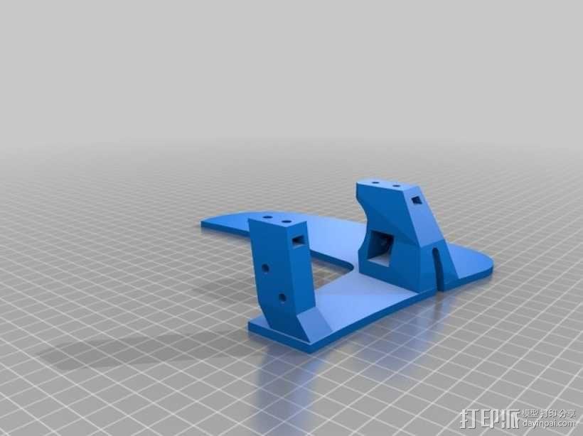 飞机遥控器 托架 3D模型  图7