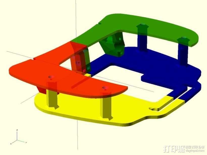 飞机遥控器 托架 3D模型  图10