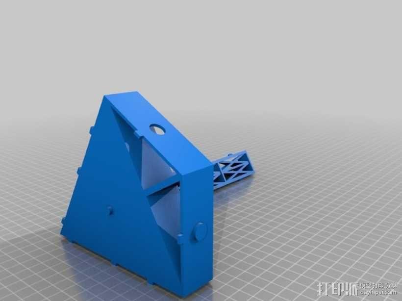 三角小凳 3D模型  图3