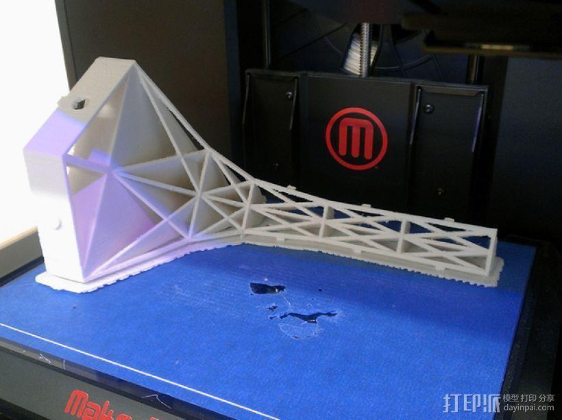 三角小凳 3D模型  图6