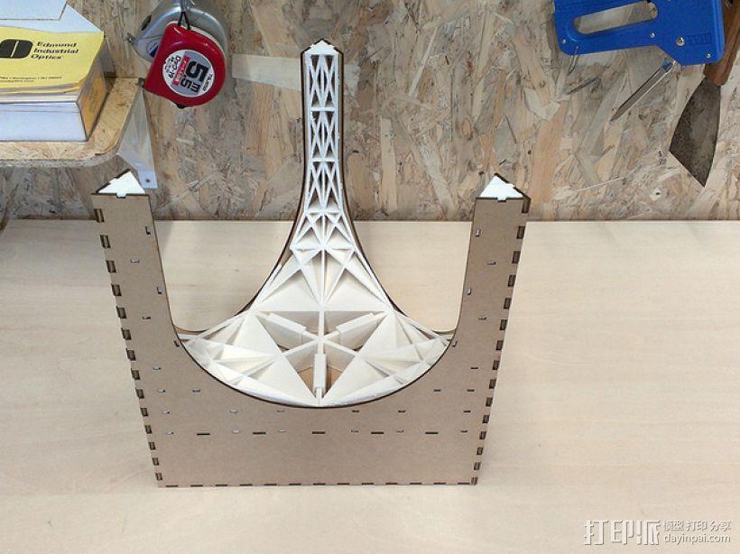 三角小凳 3D模型  图10