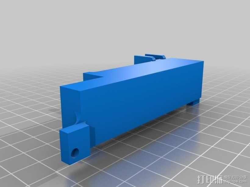 汽车收音机/盒式磁带  数字面板  3D模型  图3